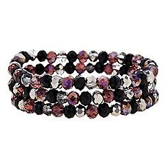 Principles by Ben de Lisi - Designer beaded coil bracelet