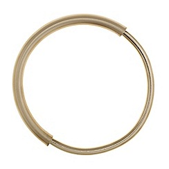 Principles by Ben de Lisi - Designer gold matt hoop bangle