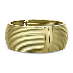 Principles by Ben de Lisi - Designer gold cuff bracelet