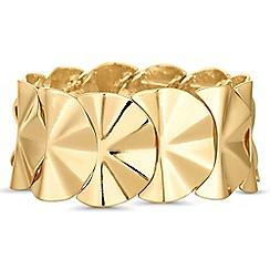 Principles by Ben de Lisi - Gold fan bracelet