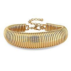 Principles by Ben de Lisi - Designer gold link bracelet