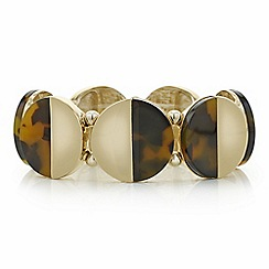 Principles by Ben de Lisi - Designer tortoise shell effect circle bracelet