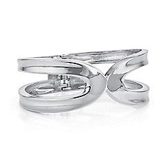 Principles by Ben de Lisi - Designer silver cut out bangle