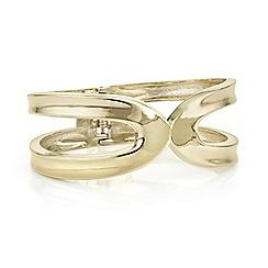 Principles by Ben de Lisi - Designer gold cut out bangle