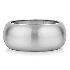 Principles by Ben de Lisi - Designer silver chunky bangle