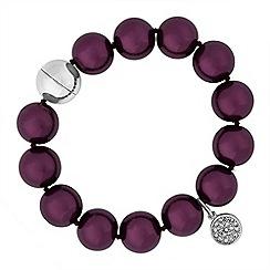 Principles by Ben de Lisi - Designer pearl charm bracelet