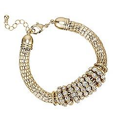 Principles by Ben de Lisi - Designer crystal rhondel bracelet