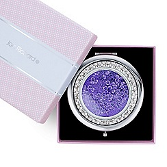 Jon Richard - Purple loose crystal compact mirror
