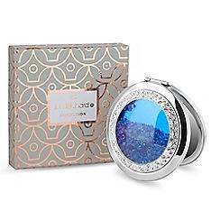Jon Richard - Blue crystal shaker compact mirror