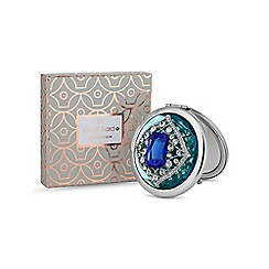 Jon Richard - Blue tonal crystal compact mirror