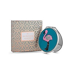 Jon Richard - Flamingo compact mirror