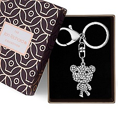 Jon Richard - Crystal bear keyring