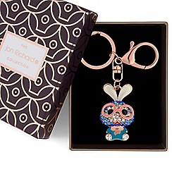 Jon Richard - Crystal rabbit keyring