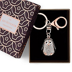 Jon Richard - Crystal penguin keyring