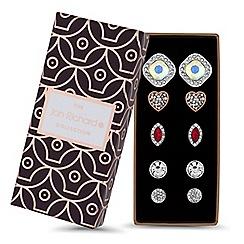 Jon Richard - Multi shape earrings set in a gift box