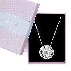 Jon Richard - Crystal disc necklace