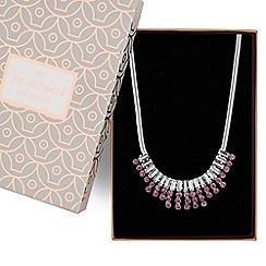 Jon Richard - Multi crystal necklace