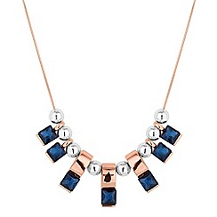 Jon Richard - Multi tone crystal stick necklace