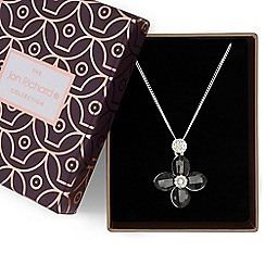 Jon Richard - Crystal flower pendant necklace