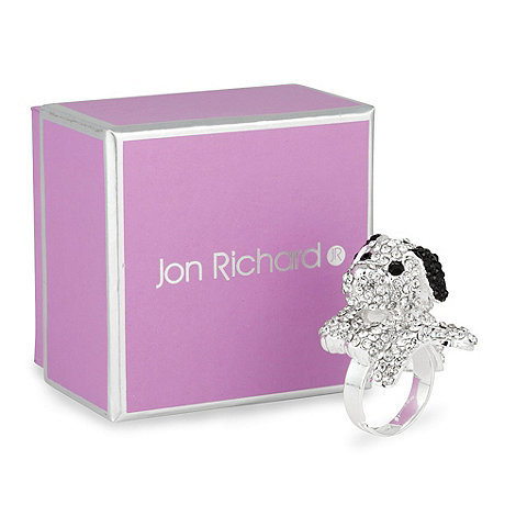 Jon Richard - Crystal dog cocktail ring