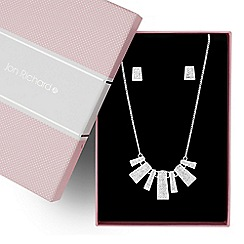 Jon Richard - Graduated crystal embellished stick jewellery set