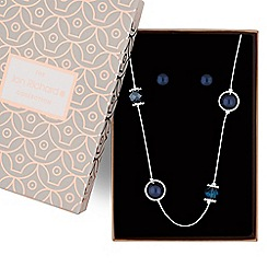 Jon Richard - Pearl long necklace jewellery set