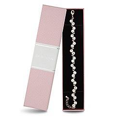 Jon Richard - Rose gold double crystal bracelet