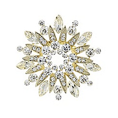 The Collection - Gold starburst brooch