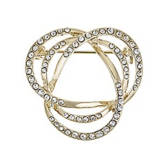 The Collection - Gold knotted brooch