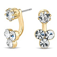 The Collection - Crystal embellished swing earring