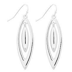 The Collection - Polished navette swing drop earring