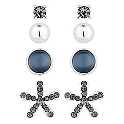 The Collection - Set of four novelty stud earrings