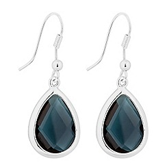 The Collection - Blue stone peardrop earring