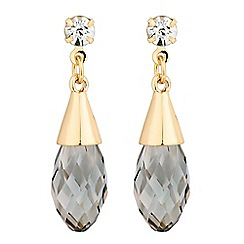 The Collection - Crystal top and bead drop earring