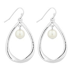 The Collection - Pearl dangle peardrop earring