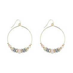 The Collection - Statement beaded peardrop earring