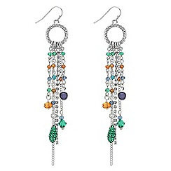 The Collection - Tassel multi bead drop earring