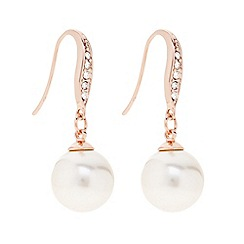 The Collection - Cream pearl drop earring