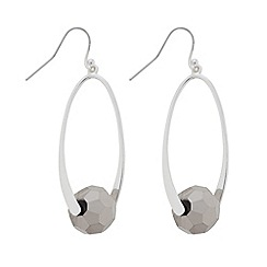 The Collection - Silver bead twist earring