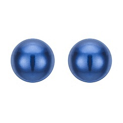 The Collection - Blue pearl stud earring