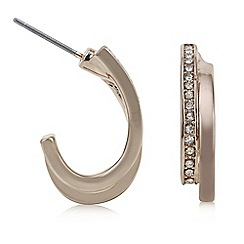 The Collection - Rose gold half hoop earring