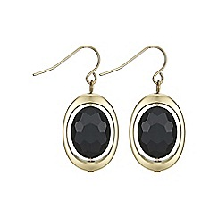 The Collection - Oval drop earring
