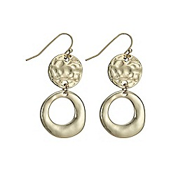 The Collection - Hoop and disc earring