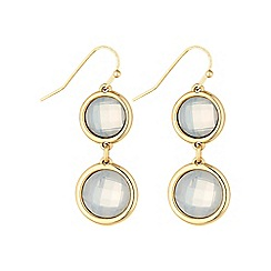 The Collection - Gold crystal earring