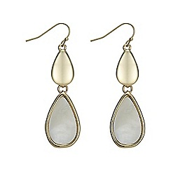 The Collection - Mother of pearl droplet earring