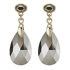 The Collection - Peardrop crystal drop earrings