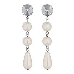The Collection - Pearl droplet earrings