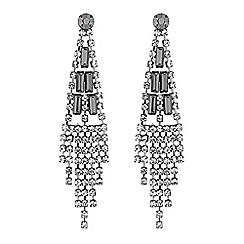 The Collection - Crystal chandelier earrings