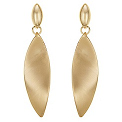 The Collection - Twist drop earrings