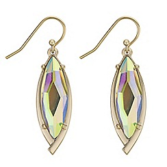 The Collection - Aurora borealis crystal drop earrings